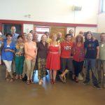 Les bénévoles à Valbonne le 2.7.2016