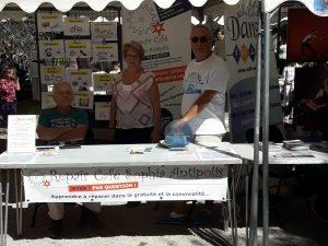 17 septembre 2017 - Stand Info Repair Café au Festin'asso de Valbonne
