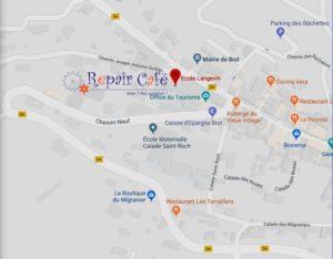 Localisation RC aux Souffleurs d'Avenir