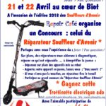 Maquette Affiche Carrefour Market Repair Café Souffleurs d'Avenir 2018 V3