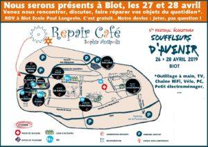 Repair Café aux Souffleurs d'Avenir @ Biot, dans l'enceinte de l'école Langevin (en face la mairie) | Biot | Provence-Alpes-Côte d'Azur | France