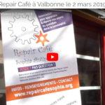[Vidéo] Reportage de PleinSudTV lors du Repair Café Valbonne du 2 mars 2019