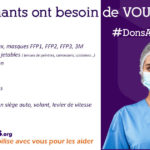 Donnons.org - Les soignants ont besoin de vous!