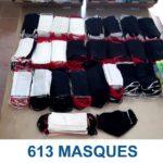 613 masques confectionnés par nos couturières bénévoles!