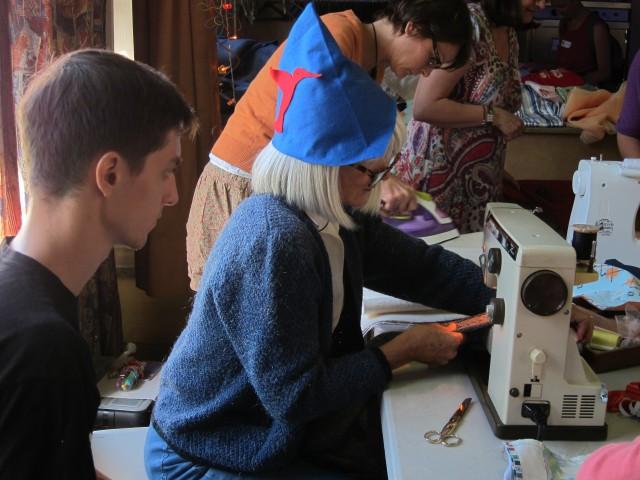 Atelier couture du Repair Café