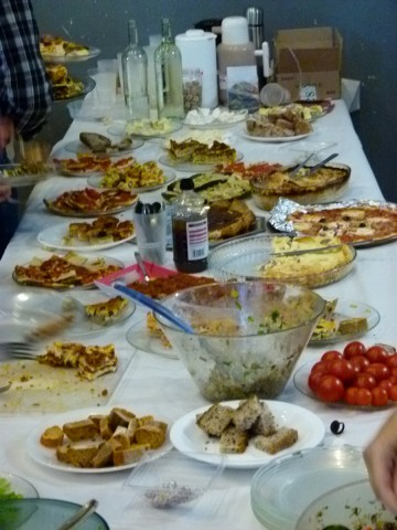 Déjeuner : Buffet convivial