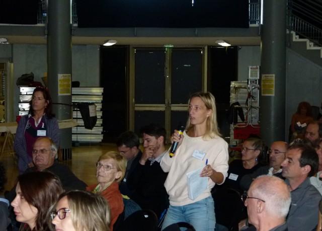 Table-Ronde : Intervention de Fleur Chambonneau - RC Pays d'Aix (13)